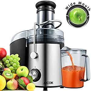 extracteur de jus aicok centrifugeuse fruits et l gumes 800w centrifugeuse ou extracteur de jus. Black Bedroom Furniture Sets. Home Design Ideas