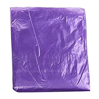 AmaMary Disposable Rain Coat, 5 Pcs Adult Outdoor Hiking Camping Tourism Emergency Thicken Poncho with Hoods (purple)