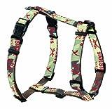 Hunter Hundegeschirr Krazy Sansibar Vario Rapid XS Band Camouflage gebuggt/Nylon braun