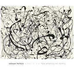 Número 14: gris por Jackson Pollock Póster