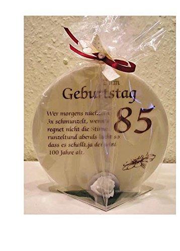 Geschenk Kerze zum 85. Geburtstag Artikel SD167121.85 85
