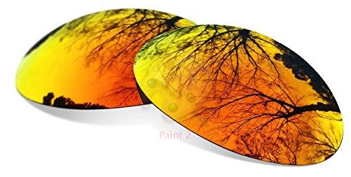 sunglasses restorer Ersatzgläser für Oakley Eye Jacket 1.0 (Polarized Fire Iridium Gläser)