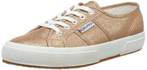 Superga Damen 2750 Lamew Sneakers, Pink (rose gold), Gr. 40