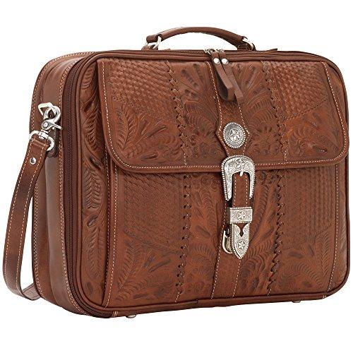 West Collezione lavoro e viaggio Antique Brown Laptop