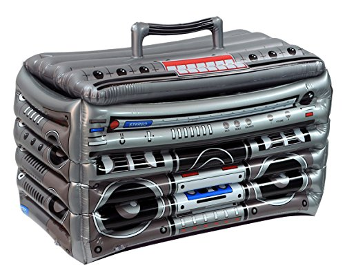 (Beistle 571031er Pack aufblasbare Boom Box Kühler, 24von 40,6cm)