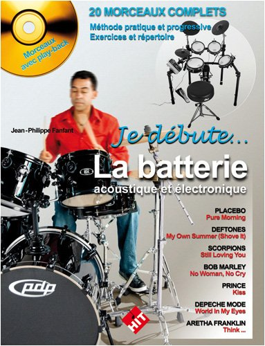 Je Debute la Batterie + 1 cd