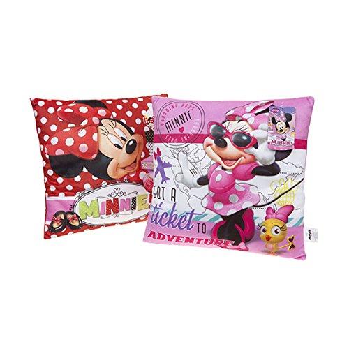 Disney Junior Minnie Mouse weiche Kissen - Design Random (Mouse Kissen Minnie)