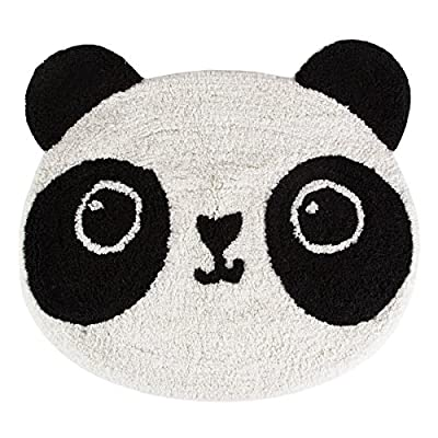 Panda Face Rug - low-cost UK light shop.
