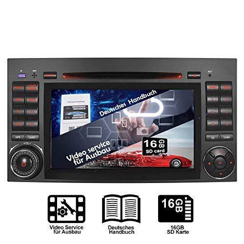 "7\"" AUTORADIO MIT 3G DVD GPS Navigation NAVI USB SD Bluetooth Autoradio CD Moniceiver Naviceiver CANBUS Dual Zone Subwoofer DAB Mirrorlink für Mercedes Benz A/B Klasse Sprinter Vito Viano"