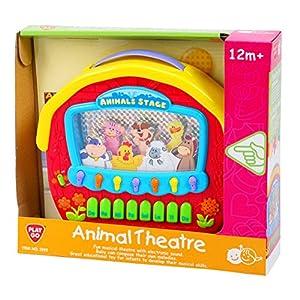PlayGo 2592-Animales de Theater, Aprendizaje Computer Accesorios