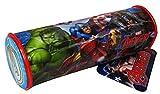 Marvel Avengers Bambini Astuccio Scuola accessori Capitan America, Iron Man E Hulk prodotto con licenza ufficiale