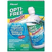 Opti Free Replenish, Kontaktlinsen-Pflegemittel, Vorratspackung 2 x 300 ml