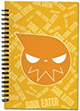 Soul Eater - Yellow Logo Face Notebook by GE Animation