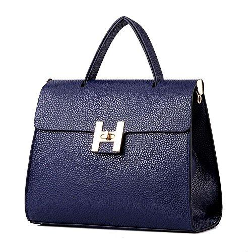 koson-man-stile-vintage-da-donna-con-fibbia-e-tracolla-maniglia-superiore-borsa-tote-bags-blu-blu-km