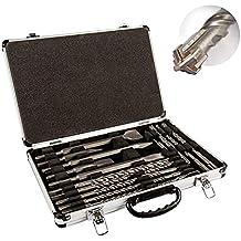 silber 30 x 400 Gesamtl/änge: 520 mm Arbeitsl/änge: 400 mm Heller 22381 Enduro Hammerbohrer Y-Cutter SDS-max Durchmesser: 30 mm 1 V