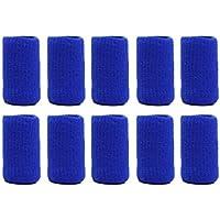 Sunsbell 10pcs / Pack Basketball Volleyball Sport Fingerstall Sicherheit Elastic Finger Cap
