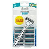 Wilkinson Sword Quattro Titanium Value Blades 8 Pack And Free Razor