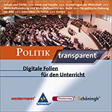 Politik transparent, 1 CD-ROM Digitale Folien für den Unterricht. Für Windows 98/ME/2000/XP