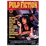 Camden Town Poster Company Giant laminé/encapsulé Pulp Fiction Promo UMA Thurman Poster