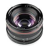 D DOLITY Obiettivo Macro 50mm F1.4 EF Mount Lenti Lunghezza Focale Fissa e Custodia Protettiva per Canon EF-mount DSLR