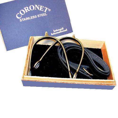 Unbekannt Coronet Herren Prince of Wales Englisch Show Sporen mit Box Sporn/Träger aus, 213538, 3/4-Inch