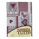 Drap ameublement Meubles Grand Foulard Couvre-lit Canapé tissu Aprica Rouge–1place