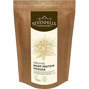 Sevenhills Wholefoods Roh Hanf-Proteinpulver Bio