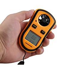 LCD Digitale Anemometer Handheld High-Accuracy Windmesser - Anemometer Messunsicherheit Tragbar Windmessgerät