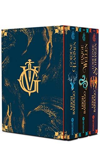 Die Grisha-Trilogie: Alle 3 Bände im Schuber: Goldene Flammen / Eisige Wellen / Lodernde Schwingen (Legenden der Grisha)