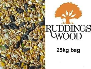 Ruddings Wood 25kg Wild Bird Seed Bird Food