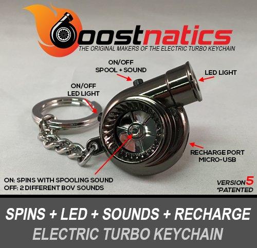 boostnatics-batteria-elettrico-elettronico-turbo-portachiavi-con-suoni-led-v5-nuova-versione-5-nero