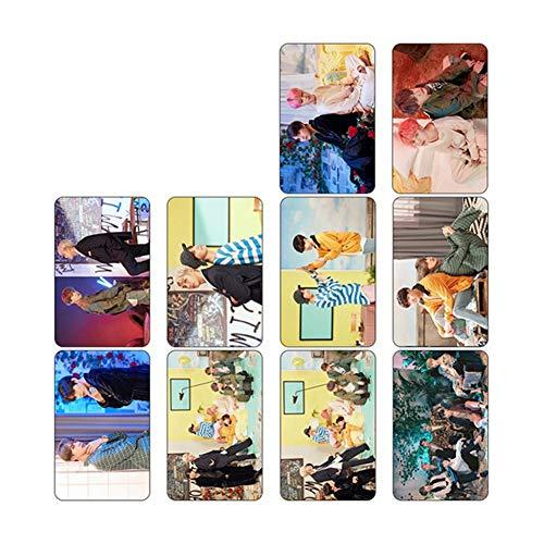 CAR-TOBBY Kpop BTS Karte der Seele Papier Lomo Fotokarte New Album Lomo Cards Photocard Poster UK H02