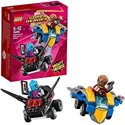 Super Heroes Lego Mighty Micros: Star-Lord Contro Nebula,, 76090