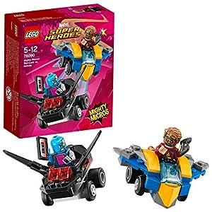 LEGO- Super Heroes Nebula Mighty Micros: Starlord conNebula, Multicolore, 76090 2 spesavip