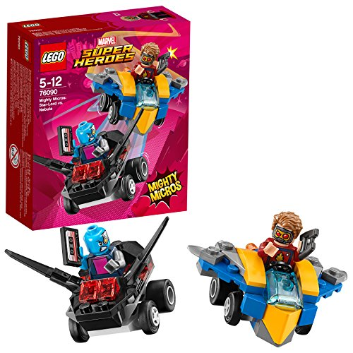 Lego Marvel Super Heroes - Mighty Micros : Star-Lord contre Nebula - 76090 - Jeu de Construction