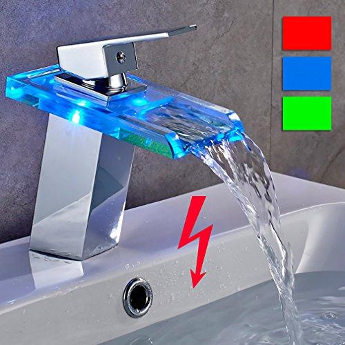Auralum® elegante Design bassa pressione LED RGB