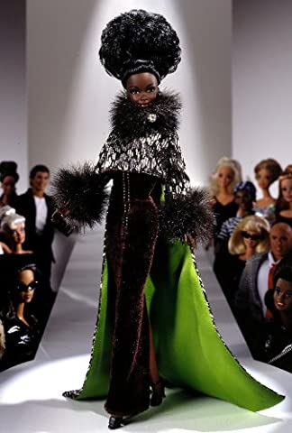 MATTEL BARBIE poupée noire africaine IN THE LIMELIGHT BY BYRON LARS - edition limitée 1996