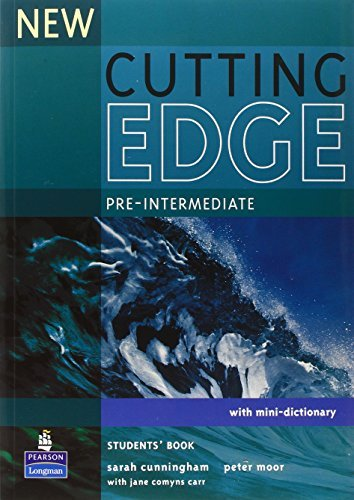 New Cutting Edge: Pre-intermediate: Student's Book: Pre-intermediate with Mini-d by Sarah Cunningham; Peter Moor (2005-08-01)