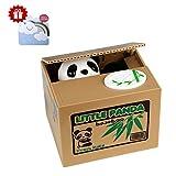 Panda Spardose Münze Bank, Piggy Bank Geld Münze Box Geschenk für Freunde (mit einer Grußkarte kommen ) …