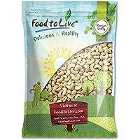 Food to Live Nueces de anacardo crudas 4.5 Kg