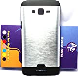 AE NEW Brushed Metal ULTRA SLEEK DESIGN Back Case Cover for SAMSUNG GALAXY j7 SILVER
