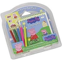Peppa Pig - Set para dibujar con bloc, lápices y pegatinas (Fantasy PP0068/7693)