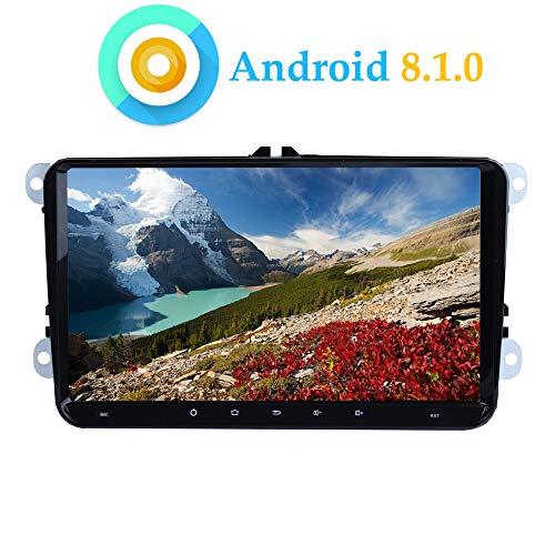 XISEDO Android 8.1 Autoradio Radio de Coche 9 Pulgadas Estéreo RAM 2G...