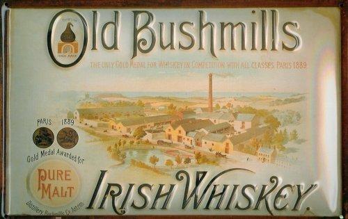 cartel-de-chapa-publicitario-de-old-bushmills-irish-whiskey-fabrik-20-x-30-cm-cartel-metalico
