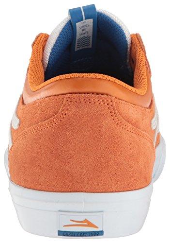 Griffin Orange Suede