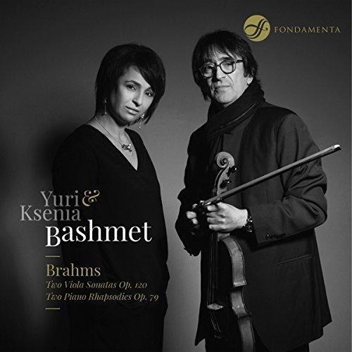 Brahms:Two Viola Sonatas [Yuri Bashmet; Ksenia Bashmet] [Fondamenta: FON-1802030]