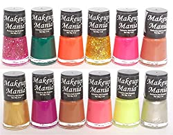 Makeup Mania Exclusive Nail Polish Set of 12 Pcs (Multicolor Set  83)