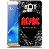 Official AC/DC ACDC Button Pins Logo Hard Back Case for Samsung Galaxy J7 (2016)