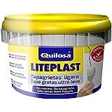 Quilosa Liteplast - Pasta para grietas (250 ml, ligero) color blanco