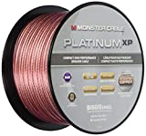 Câble enceinte compact MKIII Monster Platinum XP Clear Jacket - 30.48 mètres